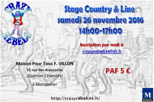 26 11 16 stage country montpellier