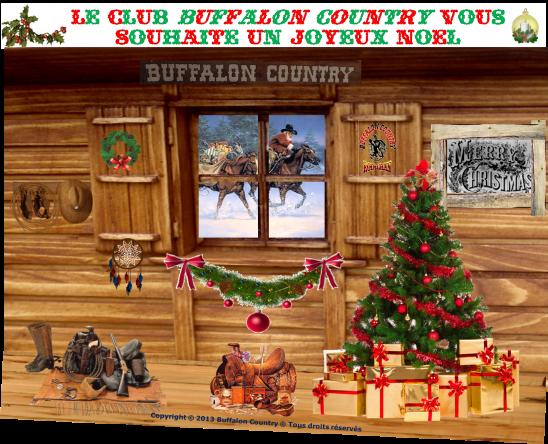 Joyeux noel buffalon country 1