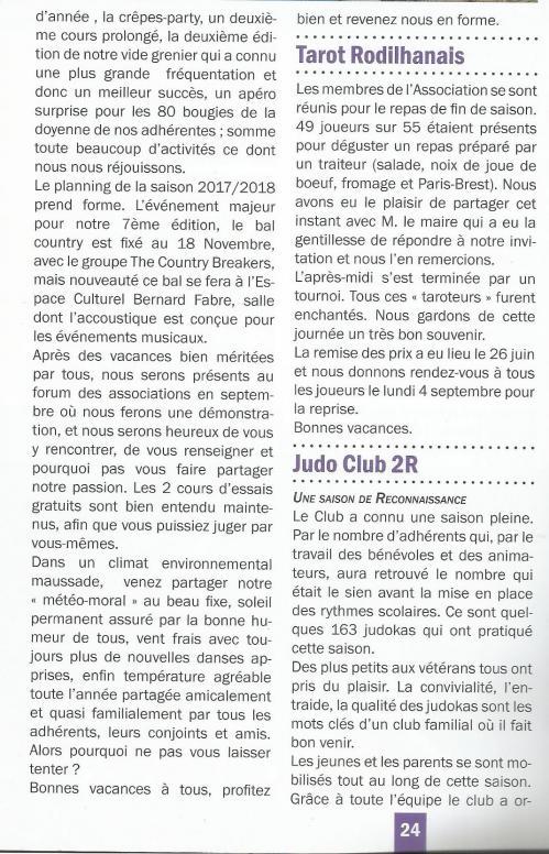 Le rodilhanais juillet 2017 page 2